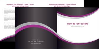imprimer depliant 2 volets  4 pages  texture contexture structure MLGI53627