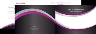 exemple depliant 2 volets  4 pages  texture contexture structure MIF53639