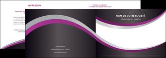 modele en ligne depliant 2 volets  4 pages  texture contexture structure MIF53641