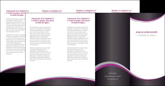 personnaliser maquette depliant 4 volets  8 pages  texture contexture structure MIF53659