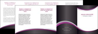modele en ligne depliant 4 volets  8 pages  texture contexture structure MIF53661