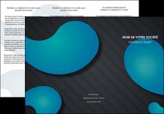 faire modele a imprimer depliant 3 volets  6 pages  texture contexture structure MLIG53689