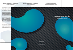 faire modele a imprimer depliant 3 volets  6 pages  texture contexture structure MIF53689