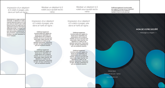 maquette en ligne a personnaliser depliant 4 volets  8 pages  texture contexture structure MIF53709