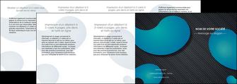 faire depliant 4 volets  8 pages  texture contexture structure MIF53711