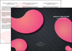 realiser depliant 3 volets  6 pages  texture contexture structure MLGI53743