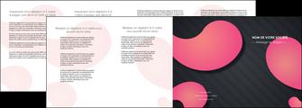 imprimerie depliant 4 volets  8 pages  texture contexture structure MIF53761