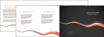 cree depliant 4 volets  8 pages  texture contexture structure MLGI53813