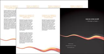 maquette en ligne a personnaliser depliant 4 volets  8 pages  texture contexture structure MLGI53817