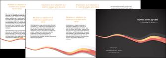 personnaliser maquette depliant 4 volets  8 pages  texture contexture structure MLGI53819