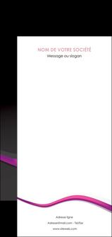 Impression prospectus pour pizzeria  prospectus-pour-pizzeria Flyer DL - Portrait (21 x 10 cm)