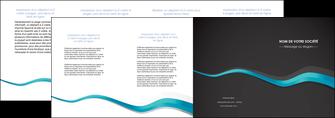 imprimer depliant 4 volets  8 pages  texture contexture structure MLGI53925
