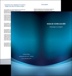 creer modele en ligne depliant 2 volets  4 pages  texture contexture structure MLGI54391