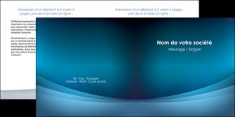 realiser depliant 2 volets  4 pages  texture contexture structure MLGI54393