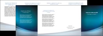 personnaliser maquette depliant 4 volets  8 pages  texture contexture structure MLGI54405
