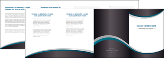 personnaliser maquette depliant 4 volets  8 pages  texture contexture structure MLGI54417