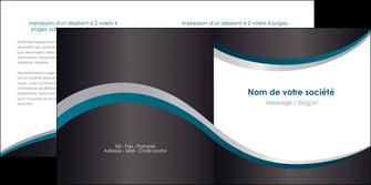 creer modele en ligne depliant 2 volets  4 pages  texture contexture structure MIF54429