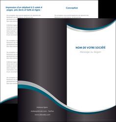 modele en ligne depliant 2 volets  4 pages  texture contexture structure MLGI54431