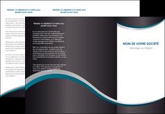imprimer depliant 3 volets  6 pages  texture contexture structure MIF54433