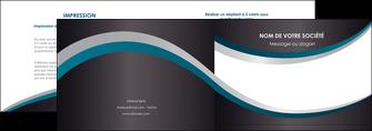 imprimer depliant 2 volets  4 pages  texture contexture structure MIF54443