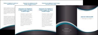 impression depliant 4 volets  8 pages  texture contexture structure MIF54463