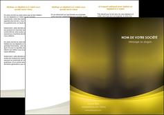 imprimerie depliant 3 volets  6 pages  texture contexture structure MLGI54553