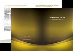 cree depliant 2 volets  4 pages  texture contexture structure MLGI54567
