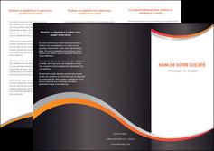 imprimer depliant 3 volets  6 pages  texture contexture structure MLIG54599