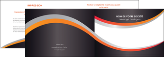 faire modele a imprimer depliant 2 volets  4 pages  texture contexture structure MLIG54607