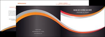 imprimerie depliant 2 volets  4 pages  texture contexture structure MIF54609