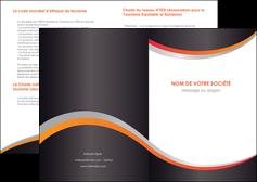 imprimer depliant 2 volets  4 pages  texture contexture structure MLIG54619