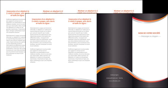 creation graphique en ligne depliant 4 volets  8 pages  texture contexture structure MLGI54627