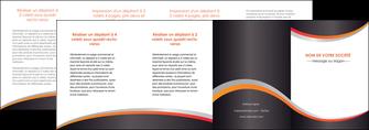 personnaliser maquette depliant 4 volets  8 pages  texture contexture structure MLIG54629