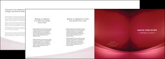 cree depliant 4 volets  8 pages  texture contexture structure MLGI54697