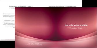 imprimerie depliant 2 volets  4 pages  texture contexture structure MIF54709
