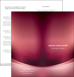 creation graphique en ligne depliant 2 volets  4 pages  texture contexture structure MLGI54711