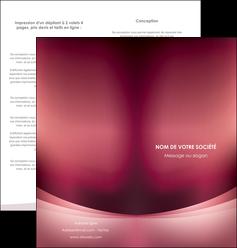 creation graphique en ligne depliant 2 volets  4 pages  texture contexture structure MIF54711