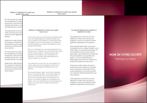 realiser depliant 3 volets  6 pages  texture contexture structure MLGI54713