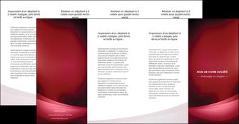 creer modele en ligne depliant 4 volets  8 pages  texture contexture structure MIF54741