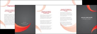imprimer depliant 4 volets  8 pages  texture contexture structure MLIG54749