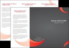 Commander depliant 4 volets  papier publicitaire et imprimerie Dépliant 6 pages Pli roulé DL - Portrait (10x21cm lorsque fermé)