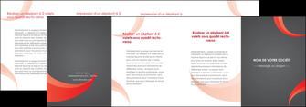 cree depliant 4 volets  8 pages  texture contexture structure MLIG54795