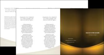 personnaliser modele de depliant 4 volets  8 pages  texture contexture structure MIF54799