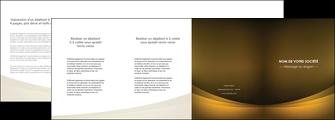 creation graphique en ligne depliant 4 volets  8 pages  texture contexture structure MIF54801