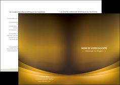 faire modele a imprimer depliant 2 volets  4 pages  texture contexture structure MIF54805