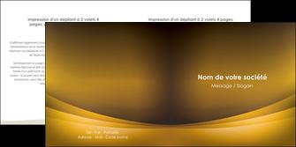 faire depliant 2 volets  4 pages  texture contexture structure MIF54813