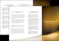 imprimer depliant 3 volets  6 pages  texture contexture structure MIF54817