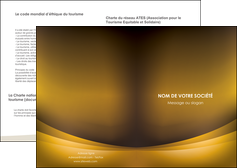 creation graphique en ligne depliant 2 volets  4 pages  texture contexture structure MIF54837