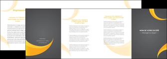 creer modele en ligne depliant 4 volets  8 pages  texture contexture structure MLIG54853