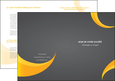 imprimerie depliant 2 volets  4 pages  texture contexture structure MIF54855